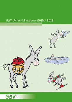 GSV Unterrichtsplaner DIN A5 – 2018/19 (Mängelexpl.)
