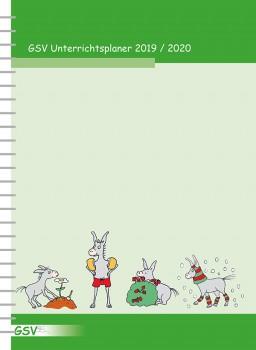 GSV Unterrichtsplaner DIN A4 – 2019/20 Spiralbindung (laufendes Schuljahr)