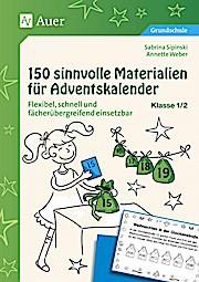150 sinnvolle Materialien für Adventskalender 1-2