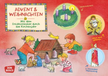 Advent und Weihnachten. Kamishibai Bildkartenset.