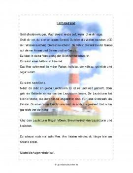 """Kostenloser Download - Fantasiereise: """"Auf der Leuchtturminsel"""""""