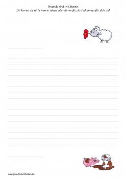 GSV Briefpapier Edgar, das Schaf (ebook - kostenlos)