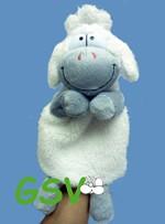 "Handpuppe ""Edgar, das Schaf"""