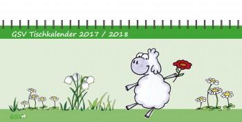 GSV Tischkalender - Edgar, das Schaf 2017 / 2018 (Vorbestellung)