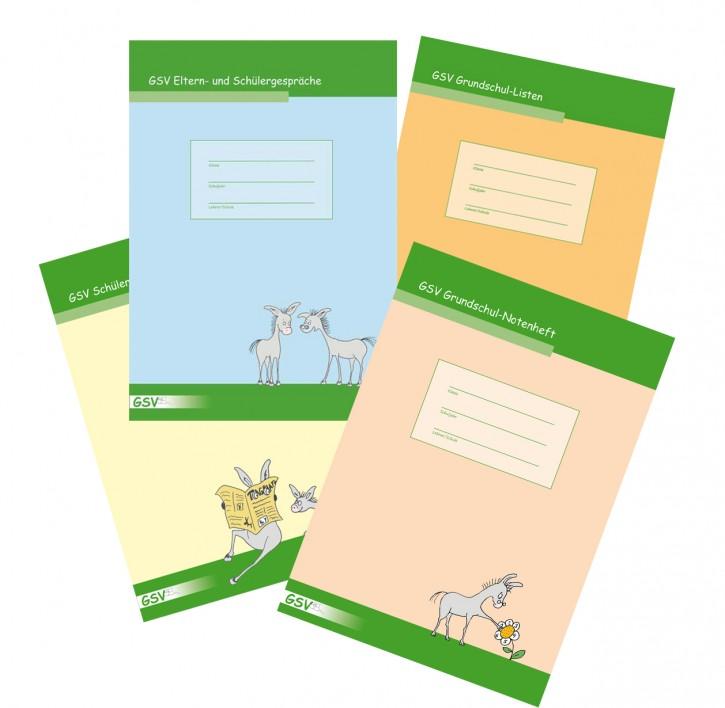 Paket Orga-Hefte (Notenheft, Schülerbeobachtung, Eltern- und Schülergespäche, Grundschullisten)