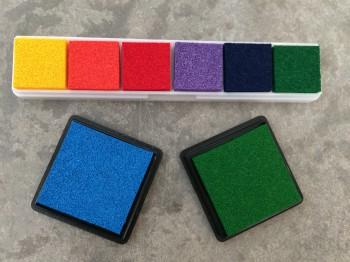 Stempelkissen, bunt, für GSV Belohnungs- und Mini-Stempel
