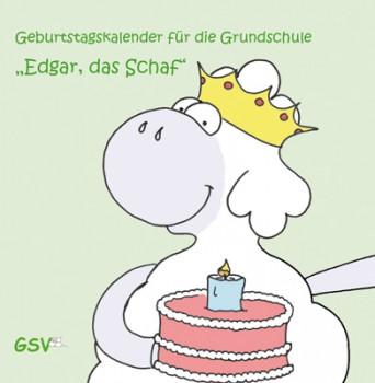 Geburtstagskalender für die Grundschule - Edgar, das Schaf