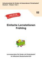 Lernstationen Frühling: ALLE in den Frühling mitnehmen (ebook)
