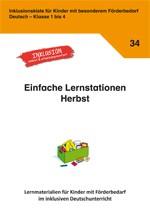 Inklusionskiste - Lernstationen Herbst (ebook)