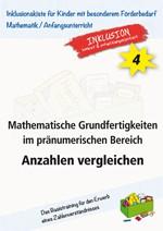 Mathematische Grundfertigkeiten im pränumerischen Bereich: Anzahlen vergleichen (ebook)