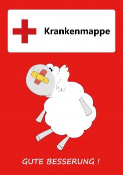 """GSV Krankenmappe """"Edgar, das Schaf"""" (Vorbestellung)"""