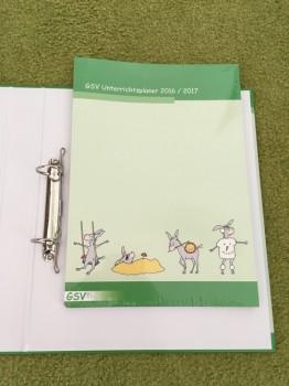 Kombi Unterrichtsplaner A4 Loseblatt 2019/20 (Bestellnr. 1640) + Orga-Ordner (Bestellnr. 2038)