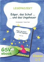 """Leseprojekt zu """"Edgar, das Schaf ... und das Ungeheuer"""" (ebook)"""