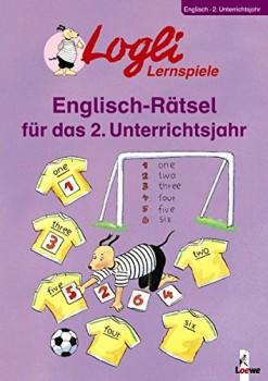 Logli Lernspiele Englisch-Rätsel für das 2. Unterrichtsjahr