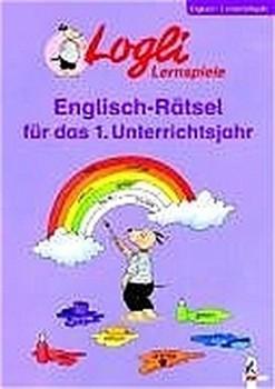 Logli Lernspiele Englisch-Rätsel für das 1. Unterrichtsjahr