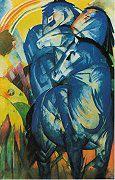 Marc, Franz - Der Turm der blauen Pferde (1913)