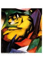 Marc, Franz - Tiger (1912)