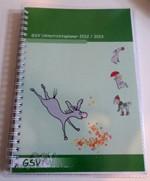 Schutzumschlag für GSV Unterrichtsplaner A5 mit Einstecktasche