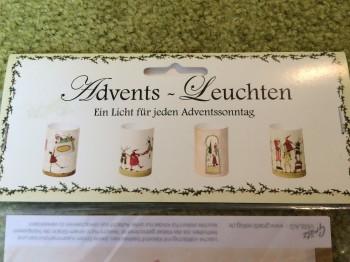 Advents-Leuchten - ein Licht für jeden Adventssonntag