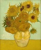 Kunstdruck Schule: van Gogh, Vincent   - Stilleben mit Sonnenblumen (1888)