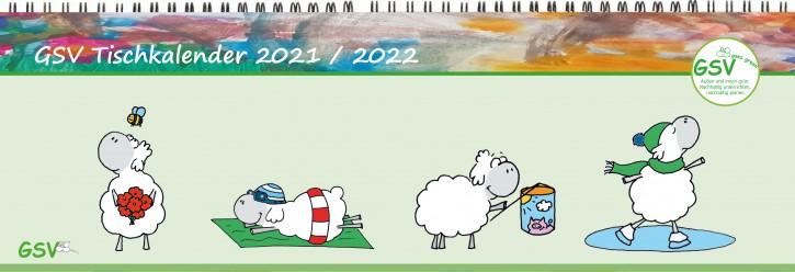 GSV Tischkalender - Edgar, das Schaf 2022 / 21 - Öko
