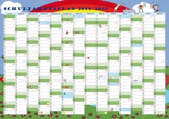 GSV Wandposter - Schuljahresplan DIN A2 (Ansichtsexemplar)