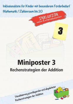 Miniposter 3: Rechenstrategien der Addition (ebook)