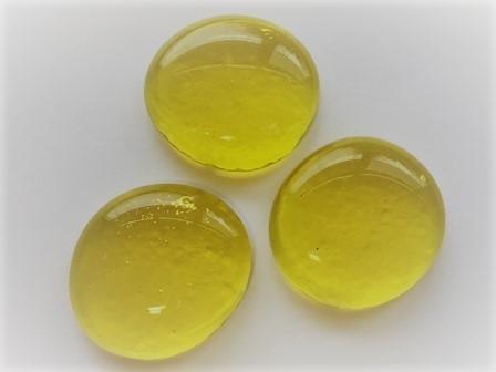 Muggelsteine, gelb, 30 Stck.