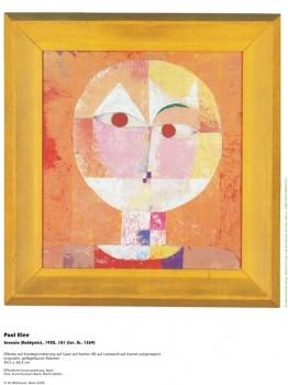 Kunstdruck Schule: Klee, Paul - Senecio (1922)