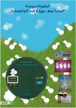 "Komplettpaket ""Schulstart mit Edgar, dem Schaf"" (CD + Materialpack1)"