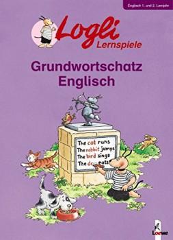 Logli-Lernspiele Grundwortschatz Englisch 1. und 2. Lernjahr