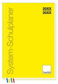 System-Schulplaner A4-Plus Buchform (2019/20)