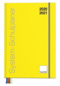 System-Schulplaner A5-Plus Buchform (2020/21)