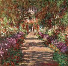 Monet, Claude - Weg im Garten von Giverny (1902)