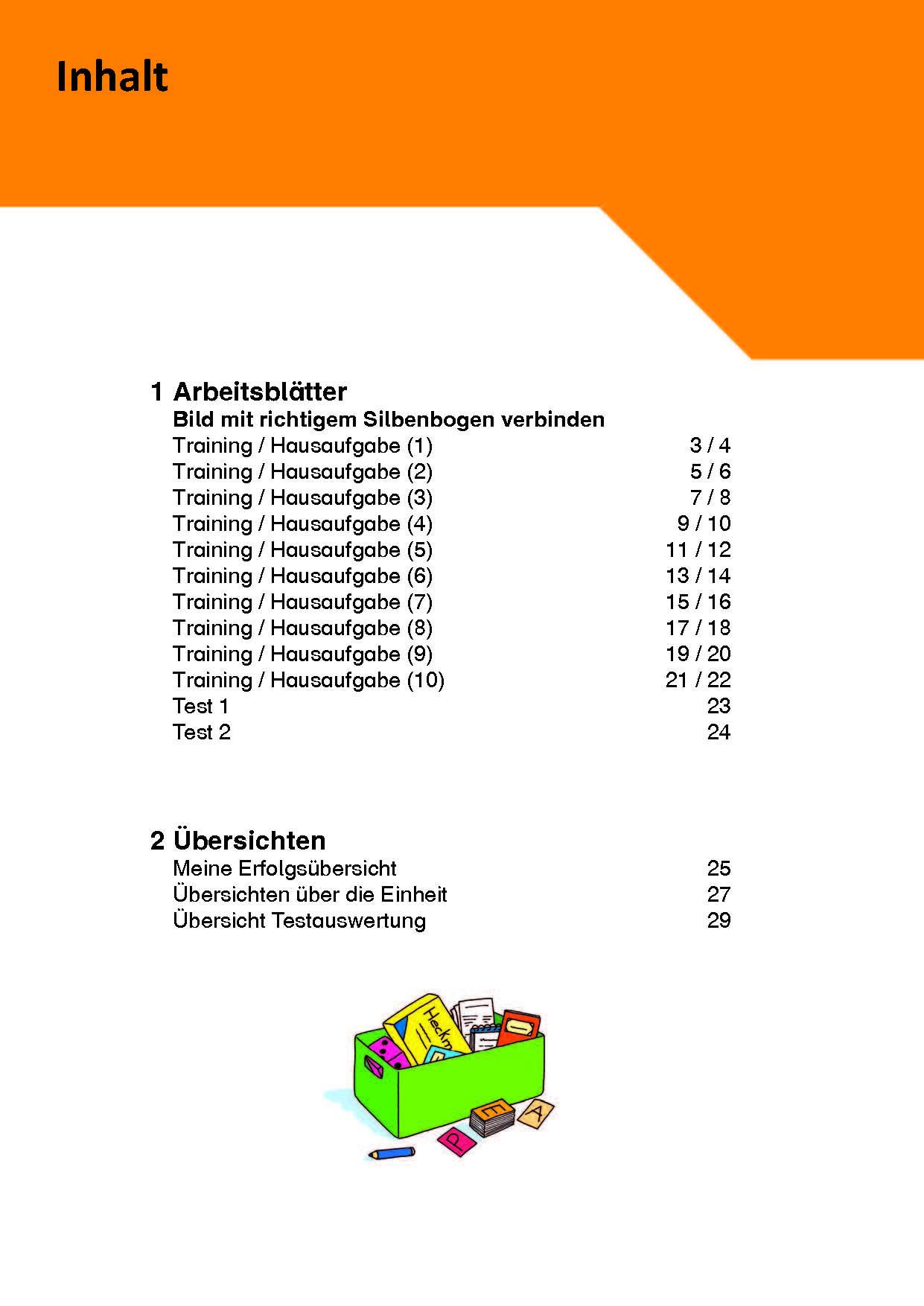 Inklusionskiste 4 - Phonologische Bewusstheit: Silben 1 (ebook)