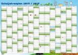 GSV Wandposter - Schuljahresplan 2016/17 A2