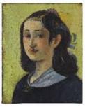 Kunstdruck Schule: Gauguin, Paul - Die Mutter des Künstlers (um 1893)