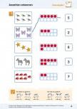 Mathematische Grundfertigkeiten im pränumerischen Bereich : Anzahlen im Zahlenraum bis 10 erkennen (ebook)