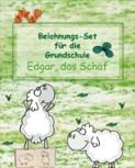 """Belohnungs-Set für die Grundschule """"Edgar, das Schaf"""""""