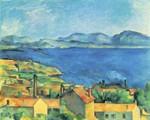 Cézanne, Paul  - Die Bucht von Marseille (um 1885)