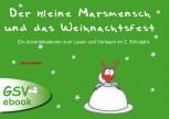 Der kleine Marsmensch und das Weihnachtsfest - Ein Adventskalender zum Lesen und Vorlesen (Ebook)