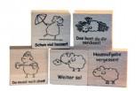 """Belohnungs-Stempel, Edgar, das Schaf, """"Spitze!"""""""