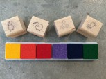 GSV-Stempelkissen, bunt, für Mini-Stempel