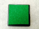 GSV Stempelkissen, grün, 3,5 x 3,5cm