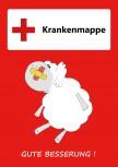 GSV Krankenmappe Schaf rot (Vorbestellung)