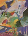 Kandinsky, Wassily - Murnau mit Kirche I (1910)