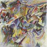 Kandinsky, Wassily - Improvisation Klamm (1914)