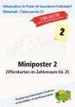 Miniposter 2: Ziffernkarten im Zahlenraum bis 20 (ebook)