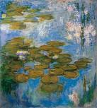 Kunstdruck Schule: Monet, Claude - Nymphéas (Seerosen) (1916–1919)