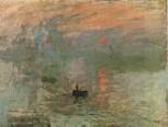 Monet, Claude - Impression soleil levant (1872)